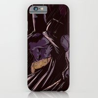 iPhone & iPod Case featuring Darkest Knight by Dave Franciosa