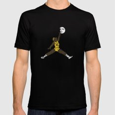 air teen wolf SMALL Black Mens Fitted Tee