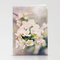 Flowers are the sweetest things Stationery Cards
