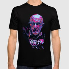Mike Ehrmantraut // OUT/CAST Black SMALL Mens Fitted Tee