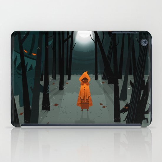 Woods Girl iPad Case