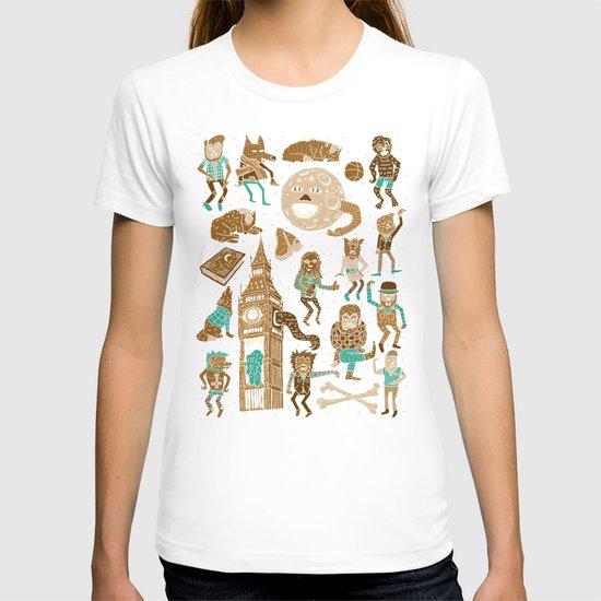 Wow! Werewolves!  T-shirt