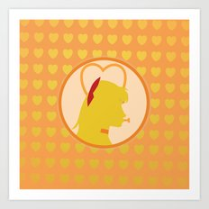 Sailor Venus Art Print