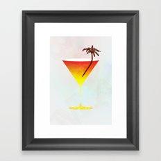 Rum Cocktail Framed Art Print