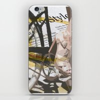 Bike Urban Chic iPhone & iPod Skin