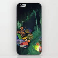 Cave Garden V iPhone & iPod Skin