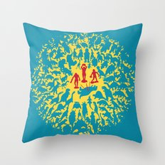 Hunted! Throw Pillow