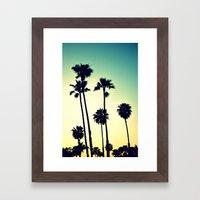 Pacific Coast Hwy Cruisi… Framed Art Print