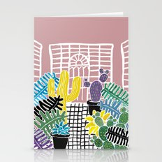Cacti & Succulent Greenh… Stationery Cards
