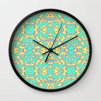 Electric Pattern Wall Clock