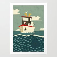 You Can't Always Catch W… Art Print