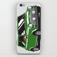 Mini Cooper Car - Britis… iPhone & iPod Skin
