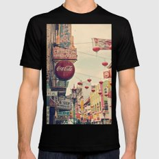 Chinatown (San Francisco) Mens Fitted Tee Black SMALL