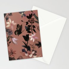 Autumn flowers in the garden Stationery Cards
