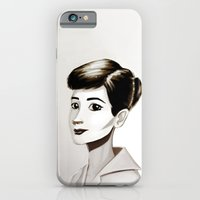 iPhone & iPod Case featuring Hepburn by animatorlu