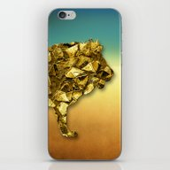 Animal Mosaic - The Lion iPhone & iPod Skin