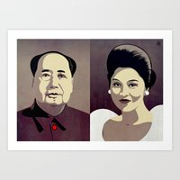 Dictators in Love: When Mao Met Imelda Art Print