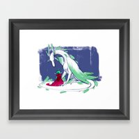 Questions Upon Questions Framed Art Print