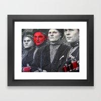 Fishily  Framed Art Print