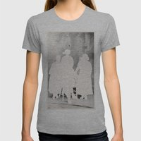 The Secret Family Womens Fitted Tee Athletic Grey SMALL