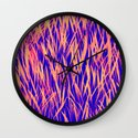 GLEAMING- CORAL REEF Wall Clock