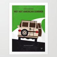 No481 My Wet Hot America… Art Print