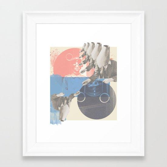 do you copy?? Framed Art Print