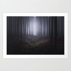 Fog of Wychwood Art Print