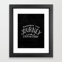 Special Edition Circles 2013 Prints - The Journey Framed Art Print