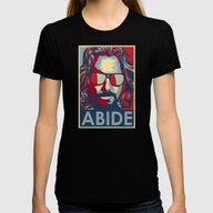 Abide Womens Fitted Tee Black X-LARGE