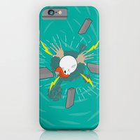iPhone Cases featuring pull the flight by production6