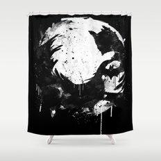 Dark Moon Shower Curtain