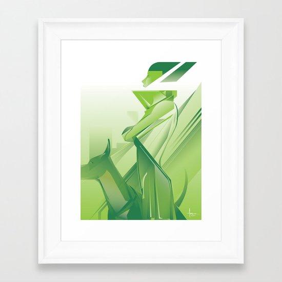 EXPECTATION 2013 Framed Art Print