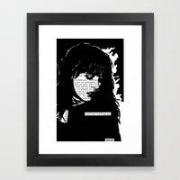 Never Stop Loving You Framed Art Print