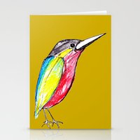 Colour bird Stationery Cards
