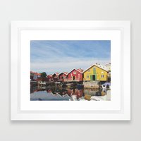 Hällevikstrand Framed Art Print