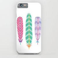 Feather Collage iPhone 6 Slim Case