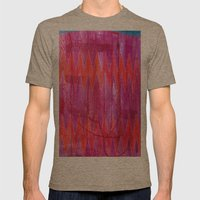 Ziggy Mens Fitted Tee Tri-Coffee SMALL