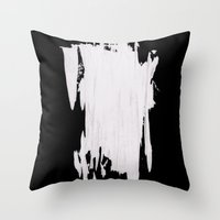 Barely Standing Throw Pillow