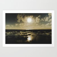 Gold Reef Art Print