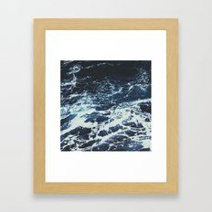 Dark Ocean Framed Art Print
