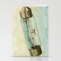 Fuse Wire Walker Stationery Cards