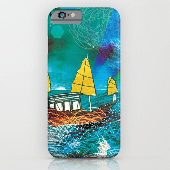Come and Sail with me through the Stormy Sea iPhone & iPod Case