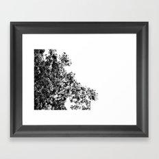 Polka dotted Tree Framed Art Print