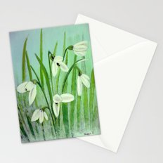 Snow drops  Stationery Cards
