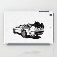 DeLorean / BW iPad Case