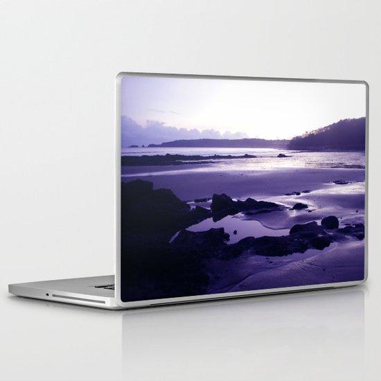 Blue Beach Bay Laptop & iPad Skin