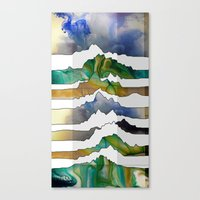 Mountain Madness Canvas Print