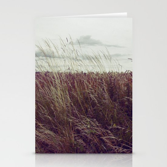 Autumn Field II Stationery Card