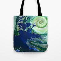 Rage Against Poseidon Tote Bag